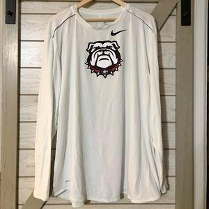 ***Nike Georgia Bulldogs Training long sleeve***
